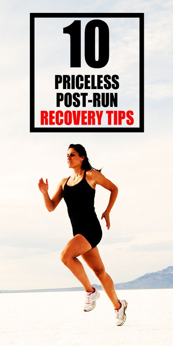 10 priceless post-run recovery tips