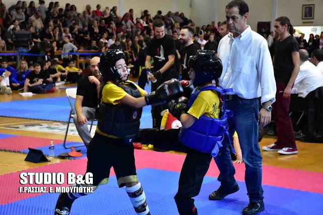 Με μεγάλη συμμετοχή αθλητών ξεκίνησε το 10ο Παλαμήδειο Πρωτάθλημα πολεμικών τεχνών στο Ναύπλιο