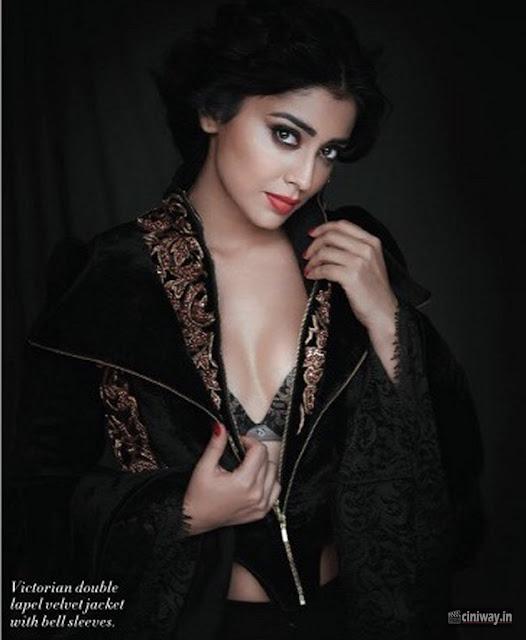 Shriya Saran L Official Magazine Photoshoot