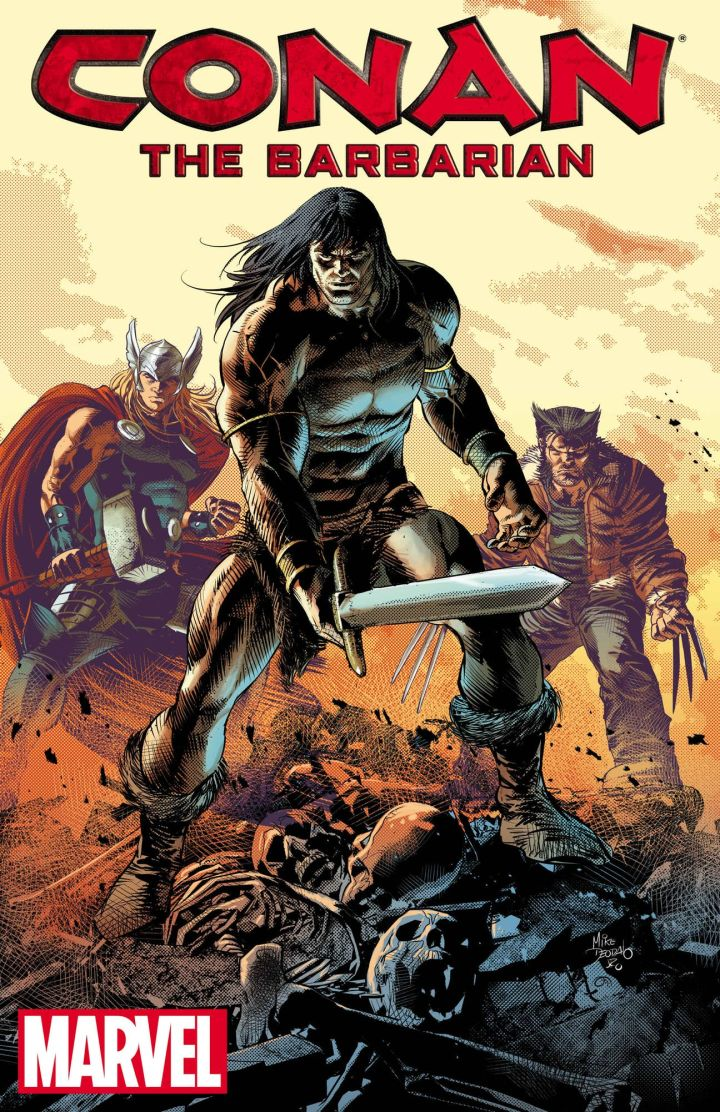 Conan o Barbaro Marvel Comics