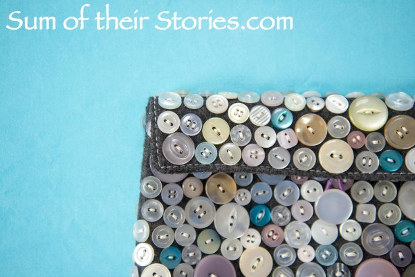 Button bag refashion