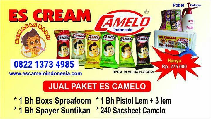 ES CAMELO DISTRIBUTOR INDONESIA
