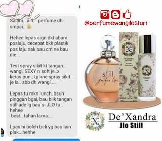 Still Jlo Tahan Lama,Dexandra,Perfume Dexandra