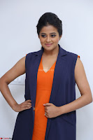 Priyamani in Beautiful Short Deep neck Orange Dress ~  Exclusive 46.JPG