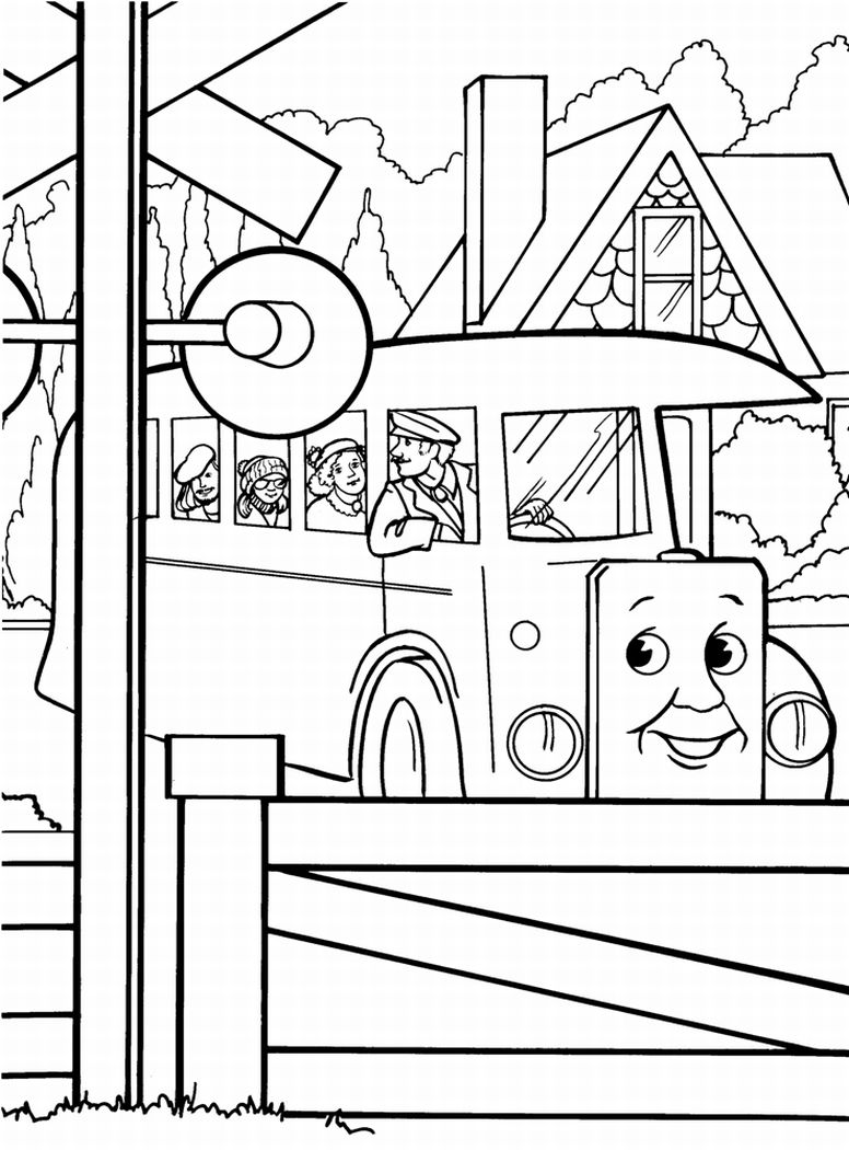 thomas coloring pages - thomas train coloring pages