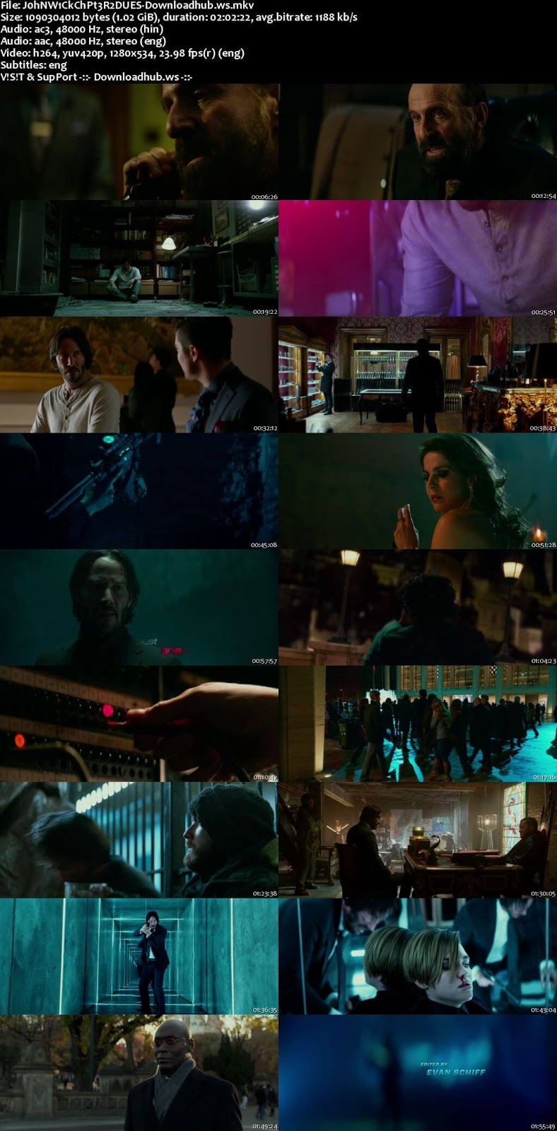John Wick Chapter 2 2017 Hindi Dual Audio 720p BluRay Free Download