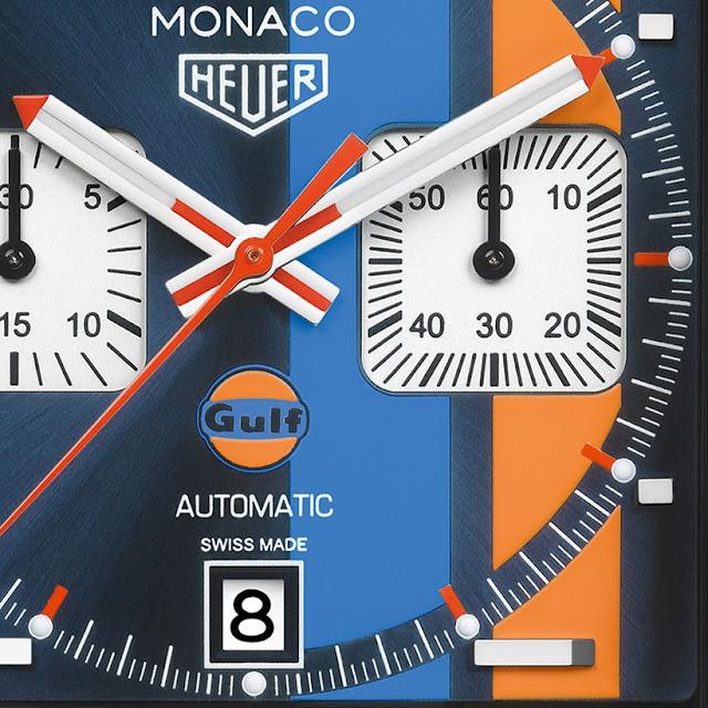 Montres TAG Heuer Monaco Gulf Édition Spéciale Réplique