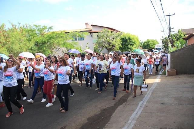 SMS de Elesbão Veloso se mobiliza em prol do 'Novembro Azul'