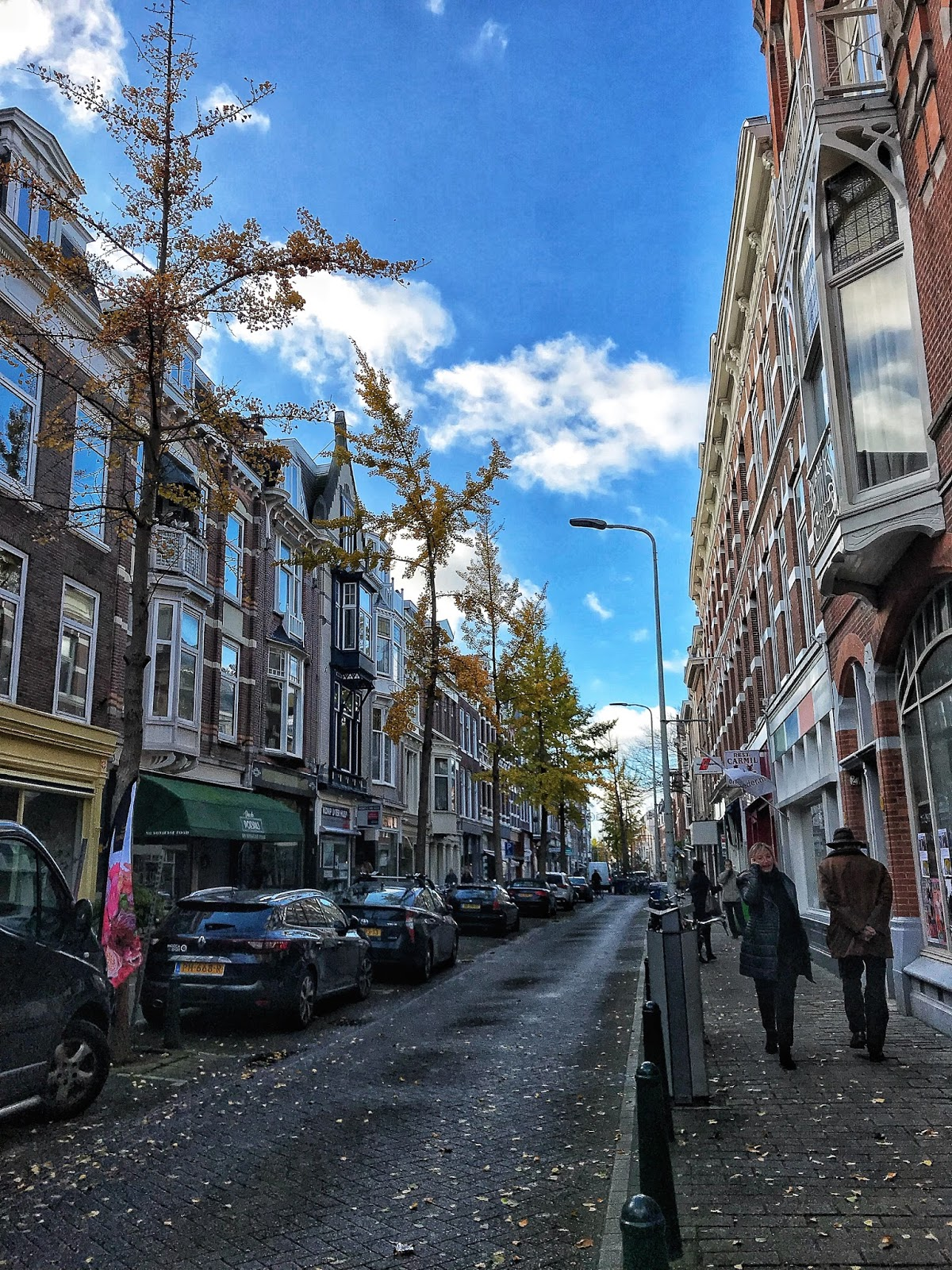 shopping streets The Hague