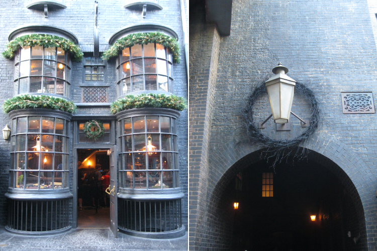 Ollivanders and Knockturn Alley Christmas Celebration