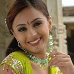 Suhani Hot Green Saree Latest Photo Stills