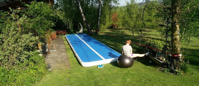 Outdoor Inflatable Tumble Track