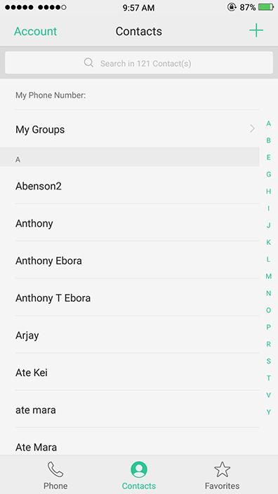 Oppo Theme: Oppo IPhone X Theme