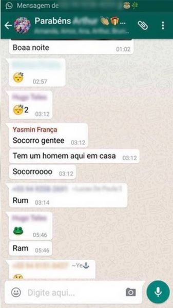 Adolescente encontrada morta pediu socorro no WhatsApp