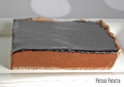 tarte au chocolat, tarte de chef, Christian Constant, chocolate tart, une tuerie de tarte, patissi-patatta