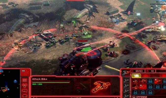 Game RTS PC - Command & Conquer
