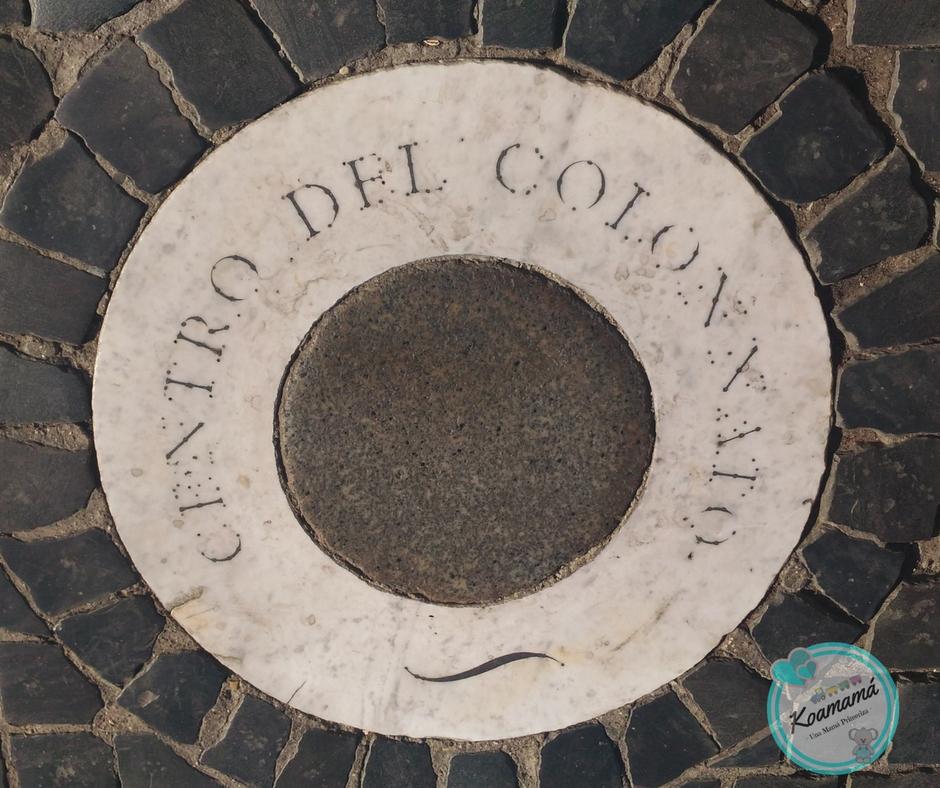 centro colonnato