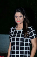 Shilpa Chakravarthy in Dark blue short tight dress At Srivalli Movie Pre Release Event ~  Exclusive Celebrities Galleries 080.JPG