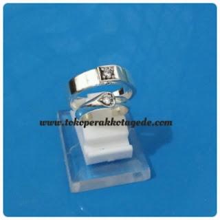 cincin kawin couple perak elegan