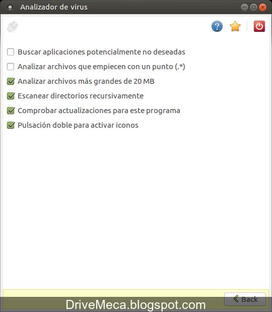 DriveMeca instalando ClamAV y usandolo en Linux paso a paso