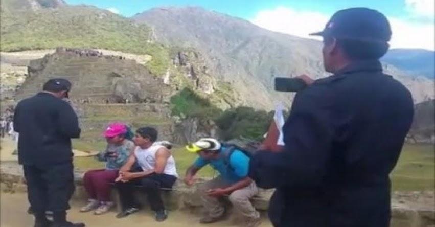 Retiran a profesores del SUTEP que ingresaron a Machu Picchu