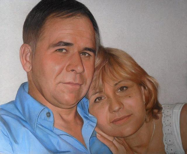 tranh%252Bson%252Bdau%252Btrieuart vẽ chân dung gia đình theo yêu cầu