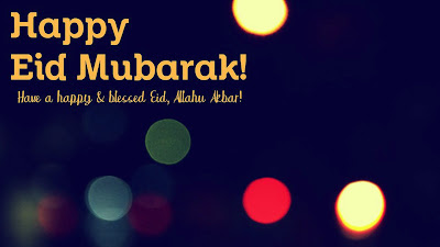 Happy Eid Mubarak HD Wallpaper