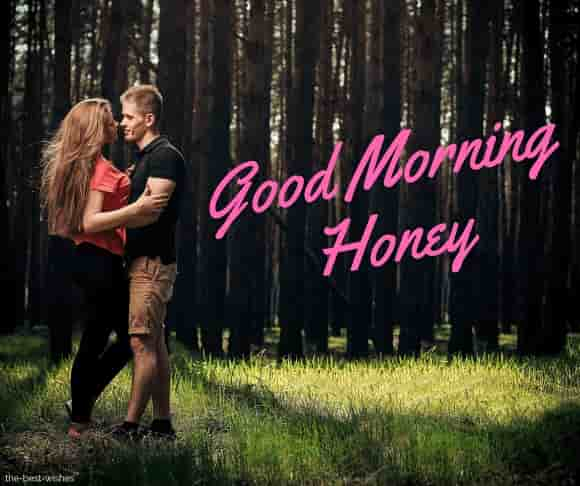 good morning honey sweet images