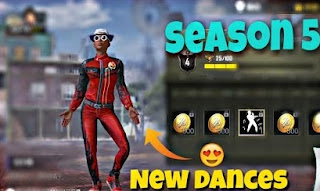 leaked Dance Emotes coming on season 5