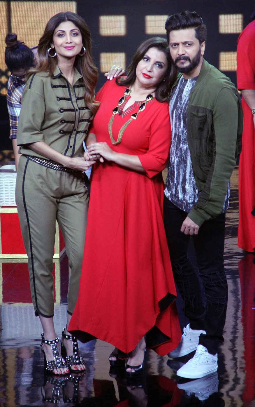 Shilpa Shetty on The Set of Lip Sync Battle at Yash Raj Studio In Mumbai