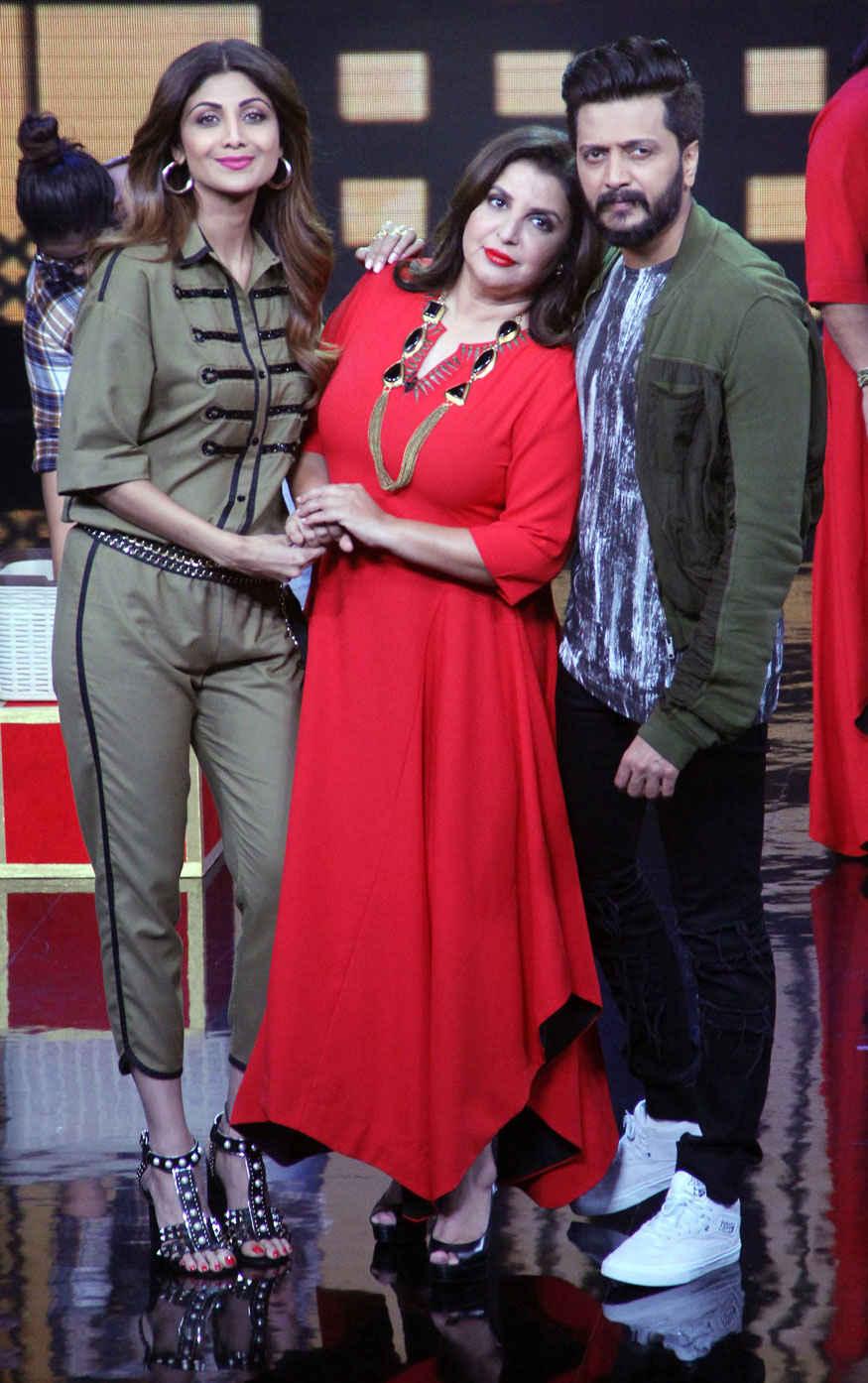 Shilpa Shetty on The Set of Lip Sync Battle at Yash Raj Studio In Mumbai