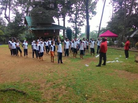 Outbound SMAN 01 Tangsel di Campas Outbound Sentul