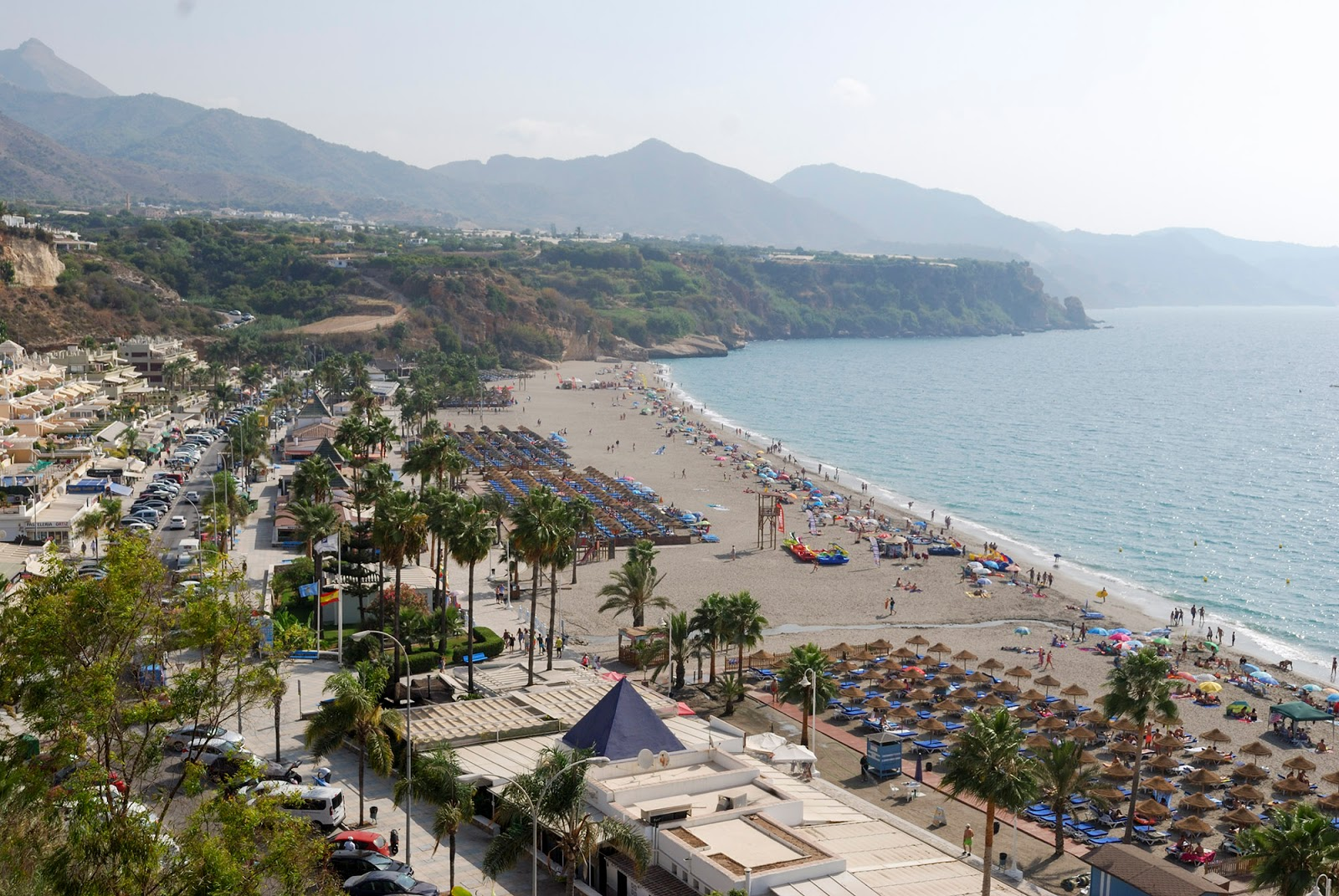 nerja malaga parador hotel view andalusia spain playa beach burriana