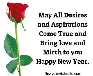 Happy New Year My love Wishes