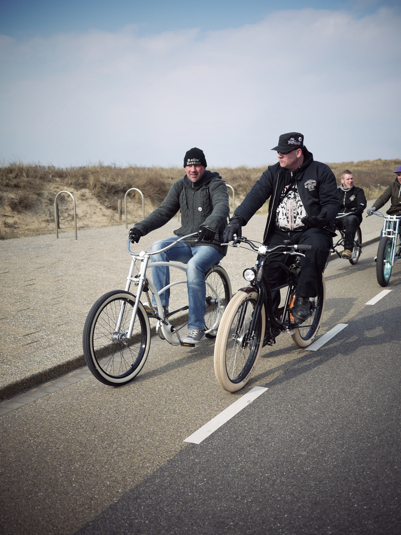 Keytown cruisers ktc chopaderos hickone beachcruiser kustom Leiden beach Netherlands proost