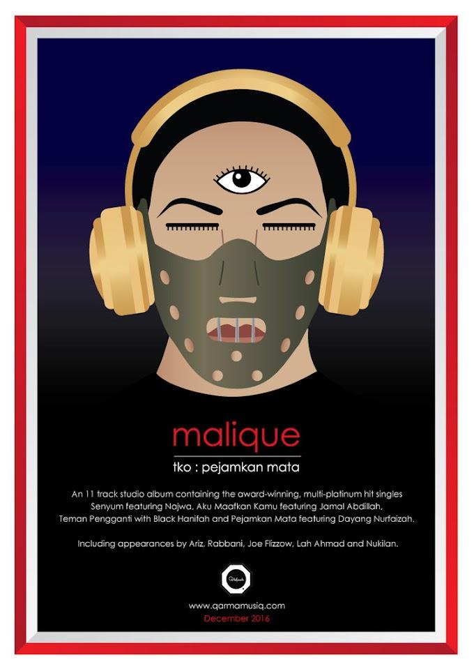 Lirik Lagu Pejamkan Mata - Malique ft Dayang Nurfaizah