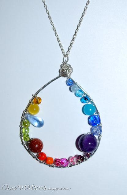 diy necklace pendant - photo #8