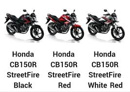 Products Honda New CB150R StreetFire Special Edition 2016