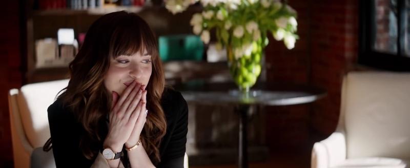 Dakota Johnson as Ana Steele in 'Fifty Shades Freed'