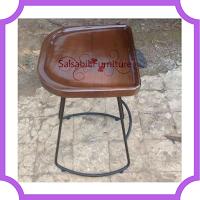 085875166325 (WA) Stool Jati Kaki Besi CKT026 salsabilfurniture.com