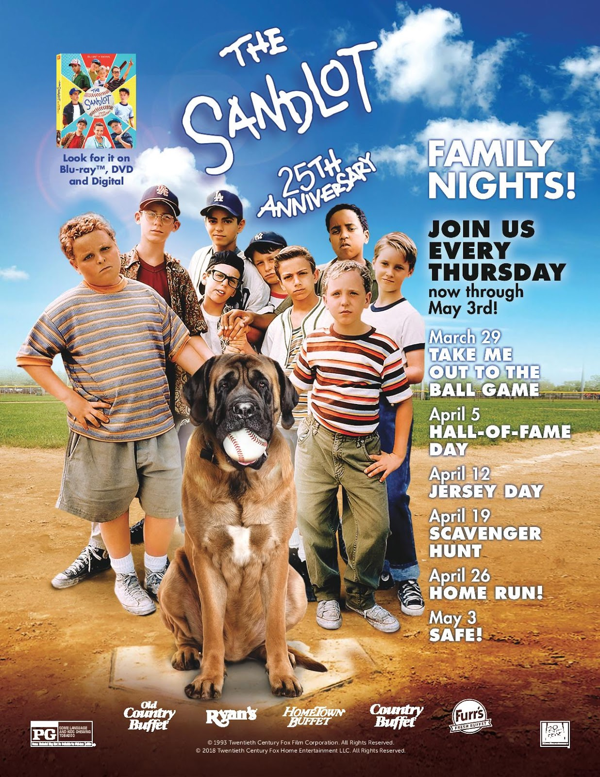 Giveaway Ovation Brands Family Night Prize Pack Featuring The Sandlot  e303a3ee0667