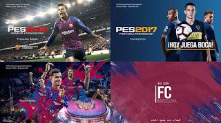 PES 2017 Startscreen Pack 2018/2019 v2