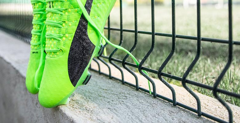 f520f108dc67 The Puma evoPOWER Vigor 1 football boots get introduced in a striking green  paint job.