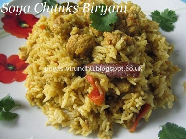 Veg Cake Recipe In Kannada: Priya's Virundhu....: Vegetarian Biryanis/Pulavs/Rice