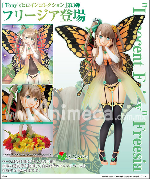 Figura Freesia Innocent Fairy Tony's Heroine Collection 4-Leaves
