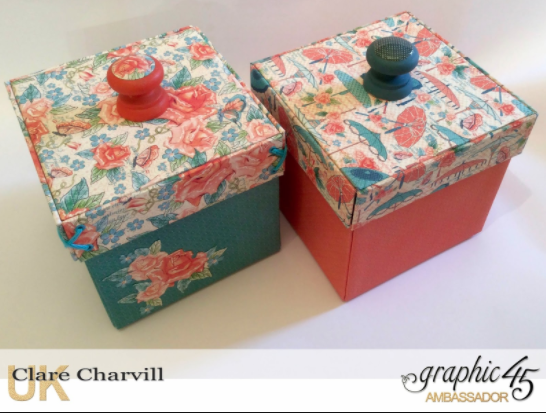 Exploding Sewing Box My Creative Spirit Graphic 45