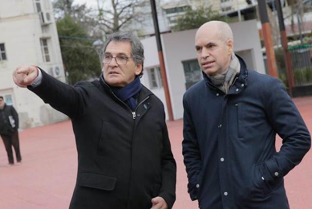 Rodríguez Larreta y Avruj recorrieron la puesta en valor del Parque Olimpo