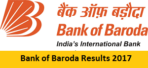 bank of baroda results 2017 released specialist officer interview