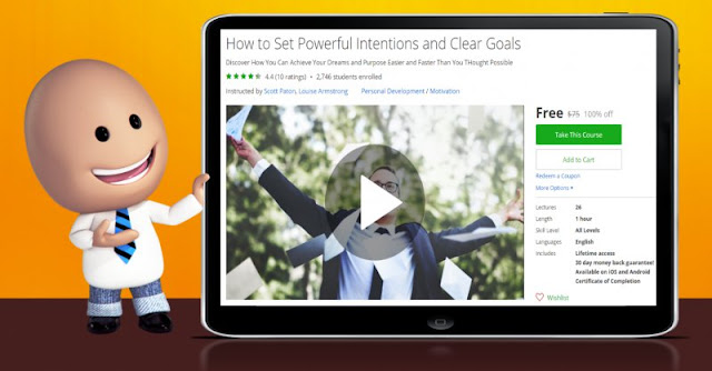 [100% Off] How to Set Powerful Intentions and Clear Goals| Worth 75$
