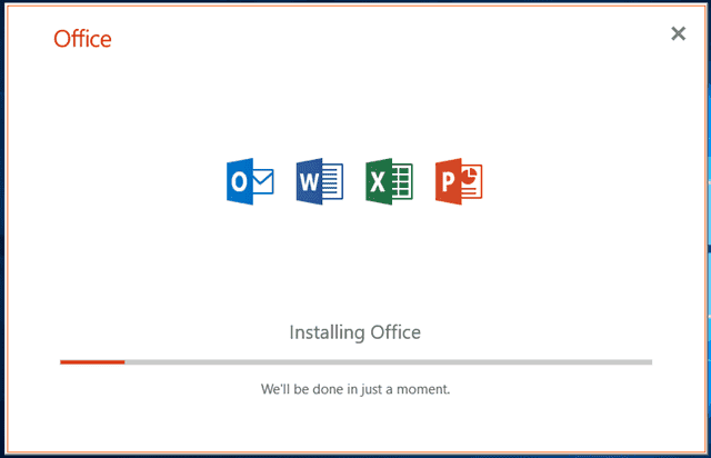 Instructions for installing and activating Office 2019 Volume License